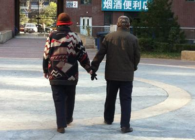中国のお年寄り