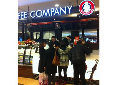 中国のカフェ