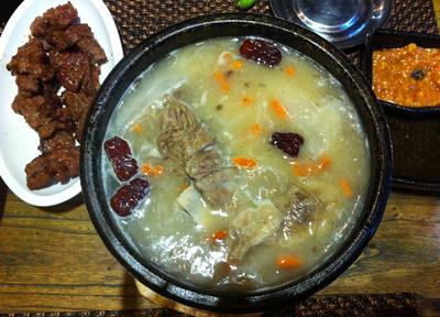 韓国料理 チゲ