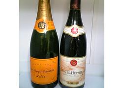 シャンパーニュ地方で作られた正真正銘のシャンパン