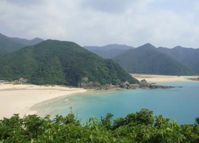 五島列島福江島:日本一美しい砂浜「高浜海水浴場」