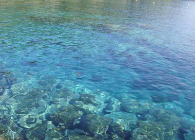 本当に海がキレイ・・・・