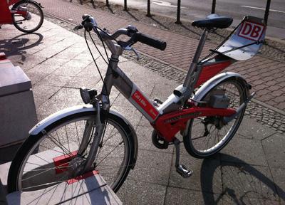 夏は自転車人口が増えるドイツ