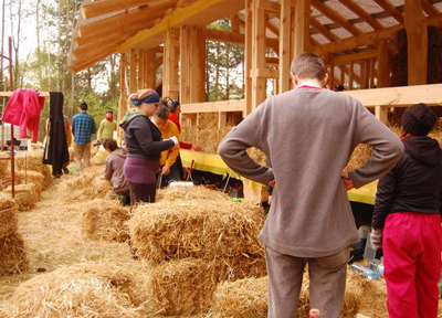 藁の家、ストロベル・ハウスを建てよう