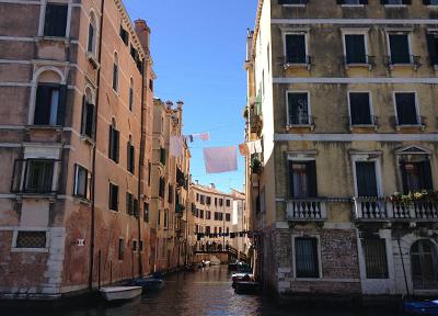 ヴェネツィアの複雑すぎる道