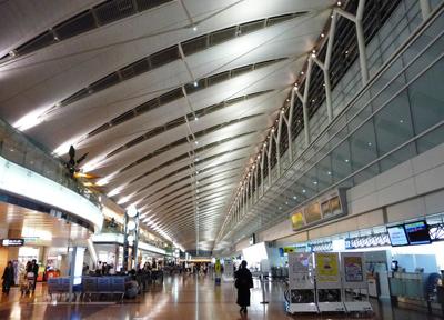 羽田空港第2ターミナル(ANA側)