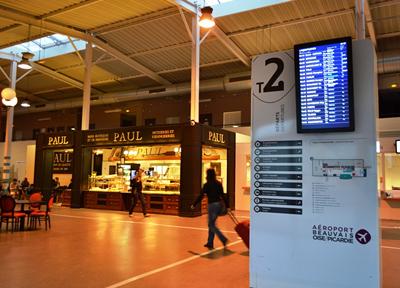フランス・パリ郊外にあるボーヴェ空港