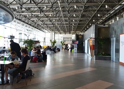 イタリア・ミラノ マルペンサ国際空港(第1ターミナル)