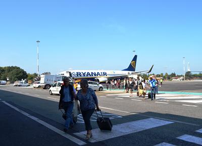 イタリア・ローマ チャンピーノ空港