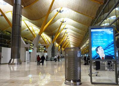 スペイン・マドリード バラハス国際空港