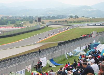 二輪レース観戦 ムジェロ