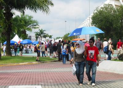 二輪レース観戦 マレーシア