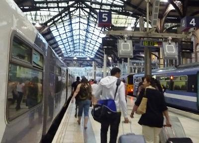 イギリス ロンドンの駅