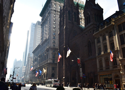 アメリカ・ニューヨークのメインストリート「5番街」