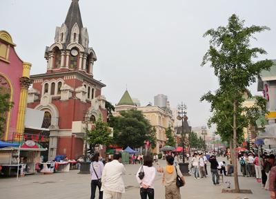 中国 大連 旧ロシア人街