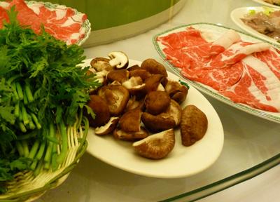 中国 東北料理 火鍋 羊肉しゃぶしゃぶ