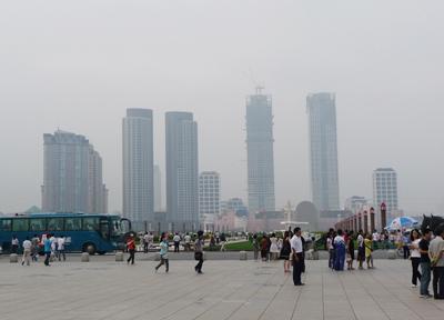 中国 大連 星海広場