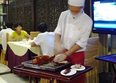 中国 北京 北京ダック