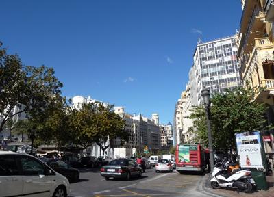 バレンシア市街地