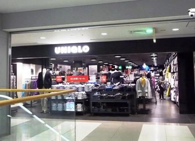 関西国際空港の「ユニクロ」店舗