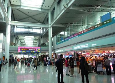 韓国・ソウルの仁川国際空港
