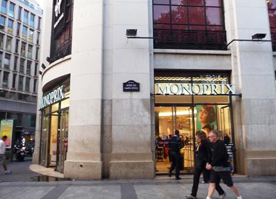 パリの高級スーパー「モノプリ」