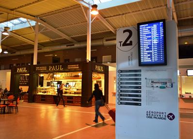 パリ郊外にあるボーヴェ空港