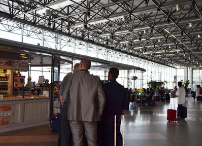 イタリア・ミラノのマルペンサ国際空港第2ターミナル