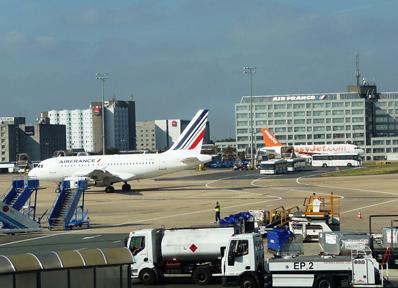 フランス・パリのシャルル・ド・ゴール空港