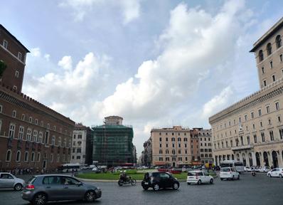 ローマのヴェネツィア広場周辺