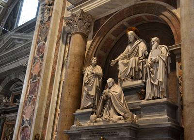 ヴァチカン市国のサン・ピエトロ大聖堂