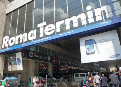 ローマのテルミニ駅