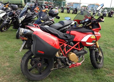 イタリアで見かけたオートバイ