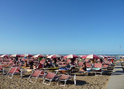 イタリア・アドリア海のリゾート
