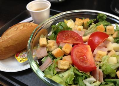 パリ・オルセー美術館のカフェで食べたランチ
