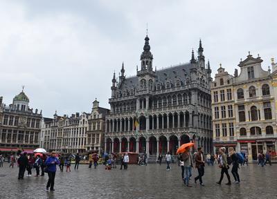 ブリュッセルの観光スポット「グラン・プラス」