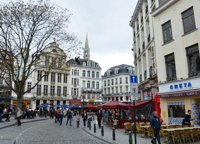 ブリュッセルの街を歩いてみて…