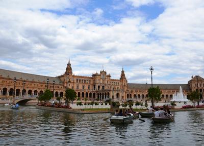 セビーリャのスペイン広場