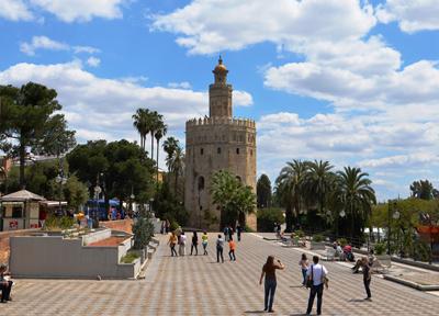 セビーリャの「黄金の塔」