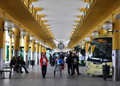 セビーリャのプラド・サン・セバスティアン・バスターミナル
