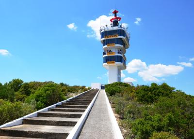 ヘレス・サーキットにある「TIO PEPE」タワー