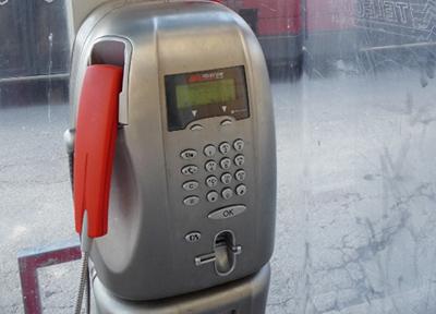 イタリアの公衆電話