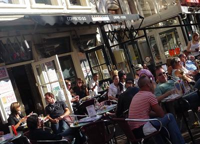海外での食事を楽しむ オランダ・アムステルダム