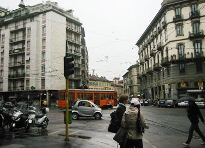道に迷った場合 イタリア・ミラノ