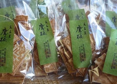 京都・上御霊神社 門前名物「唐板」