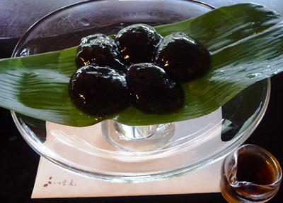 京都「茶寮 宝泉」の本わらび餅