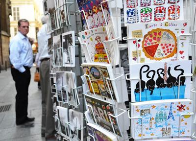 パリで見かけた土産店