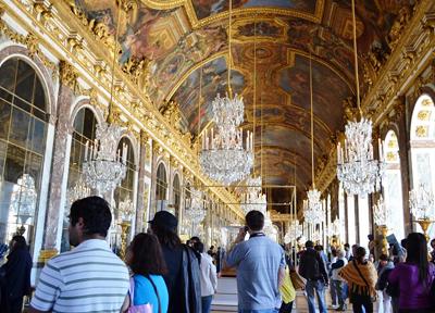 ヴェルサイユ宮殿 鏡の間