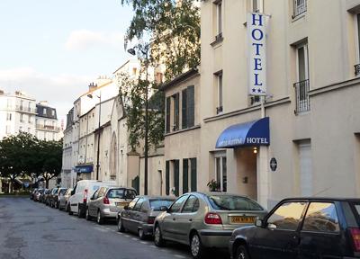 フランス・パリの中華系が経営する宿