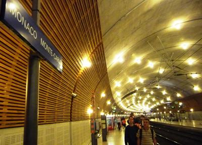 モナコ・モンテカルロ駅